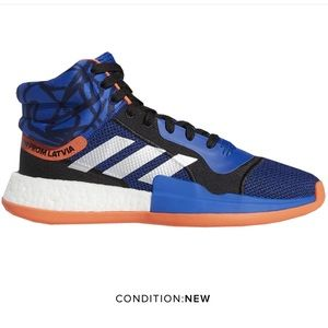 Adidas | Marquee Boost Core Royal Blue Orange 14